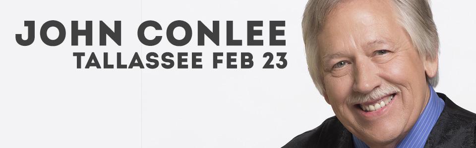 John Conlee Show in Tallassee on February 23!