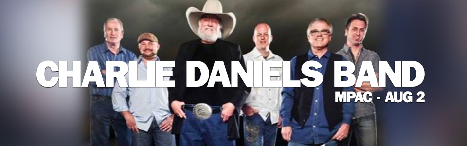 The Charlie Daniels Band at the MPAC on Aug 2