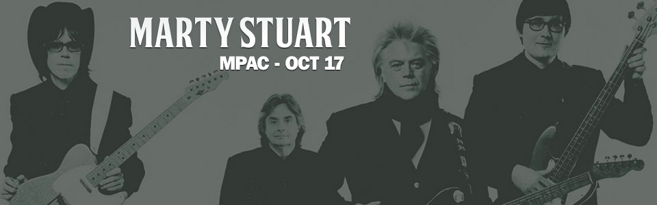 Marty Stuart at the MPAC on October 17