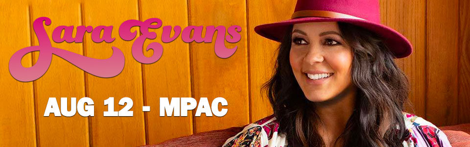 Sara Evans at the MPAC on August 12